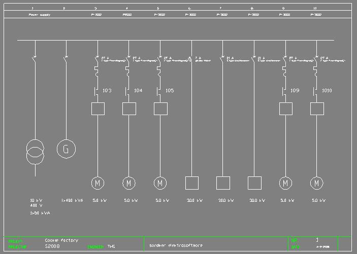 Mcc Single Line Diagram - Wiring Diagram